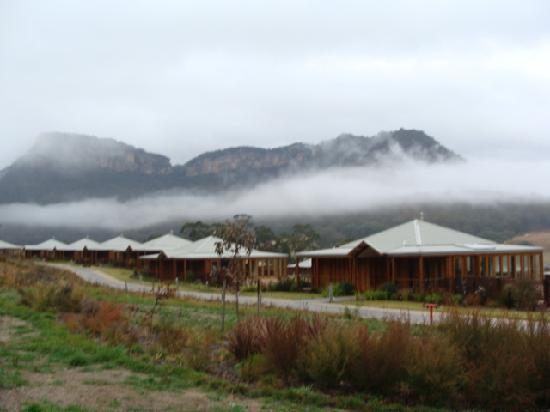 Emirates One&Only Wolgan Valley: Chilly weather, cosy resort