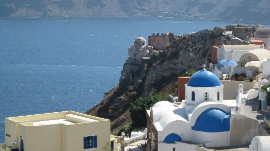 Old Oia Houses: View from our room