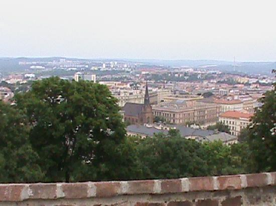 Brno, Czech Republic: A view from the fortress