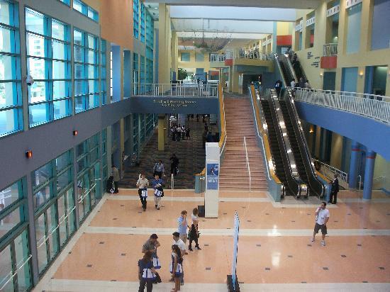 Miami Beach Convention Center: interno
