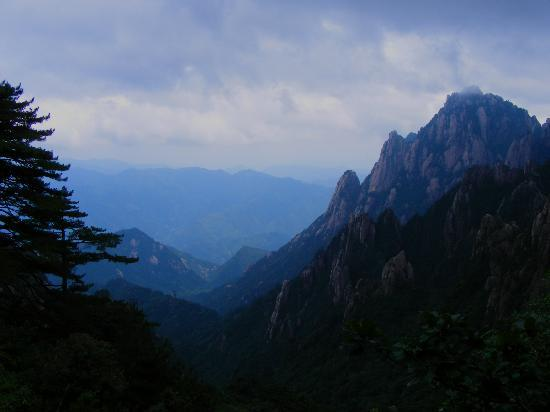 Huangshan, Kina: Yellow Mountain