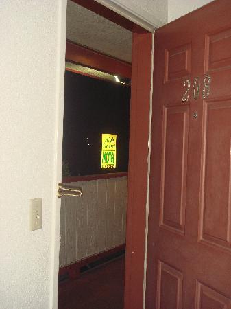High Desert Motel: panneau signalitique