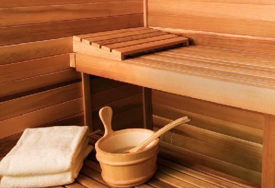 Zafolia Hotel Athens: Sauna