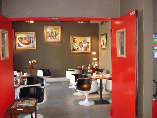 Hotel Porte de Versailles: salle à manger