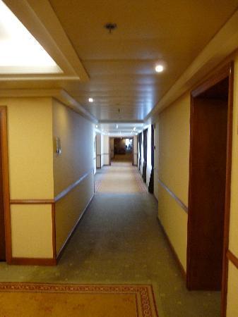 Athenee Palace Hilton Bucharest: couloir hôtel