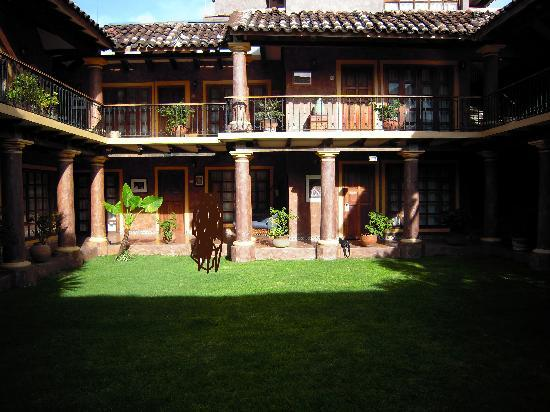Hotel Casa Mexicana : il giardino della 2° struttura