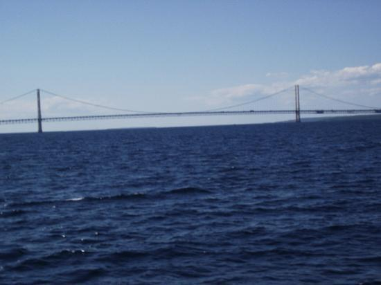 Northwinds Motel: The Mighty Mac as seen from the motel property