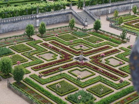 Chez Teresa : Gardens in Villandry