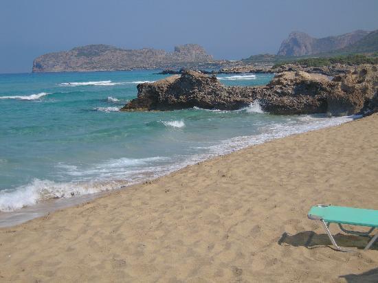 Magnolia Apartments Studios: Spiaggia di Falasarna