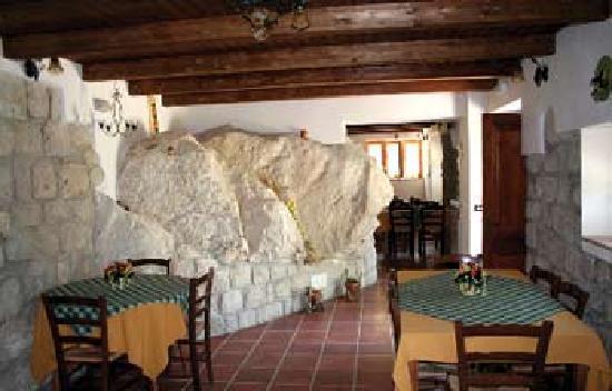 Agriturismo La Roccia : interno