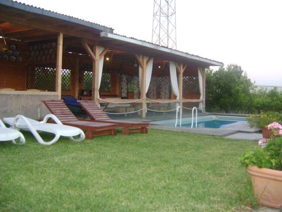 Agriturismo San Matteo: Patio and swimmingpool