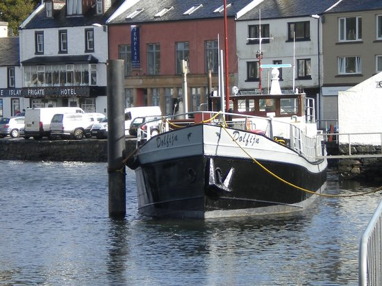 Cafe Barge: Cafebarge from Harbour St