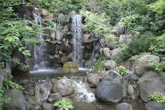 ‪‪Anderson Japanese Gardens‬: Waterfall‬