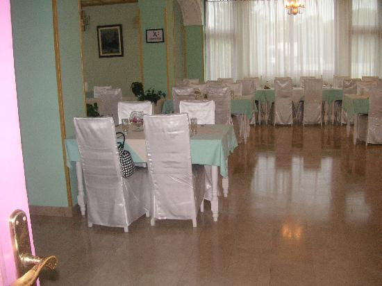 Hotel Blaza: The dining/breakfast room