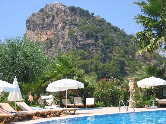 Dalyan Resort: Pool view
