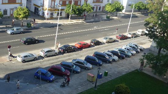 NH Luz Huelva: Aparcamiento cercano