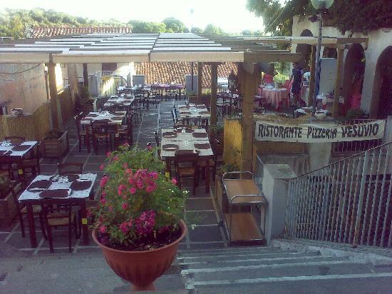 Cori, Italie : terrazzA