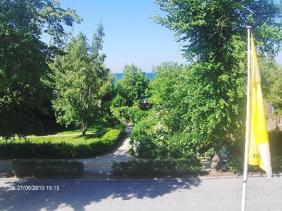 Ringhotel Strandblick : Blick aus dem Hotelzimmer