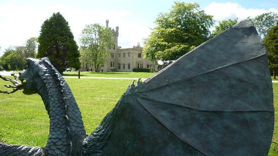 Lough Eske Castle, a Solis Hotel & Spa: Caution - dragons on site!