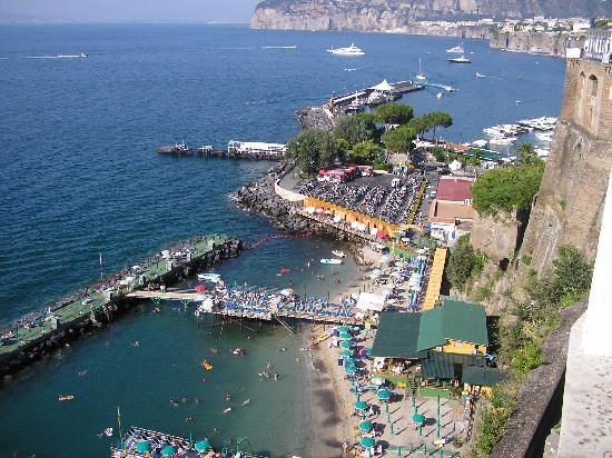 View From The Hotel Picture Of Europa Palace Grand Hotel Sorrento