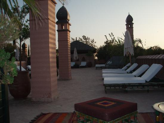 La Sultana Marrakech: escape on the roof