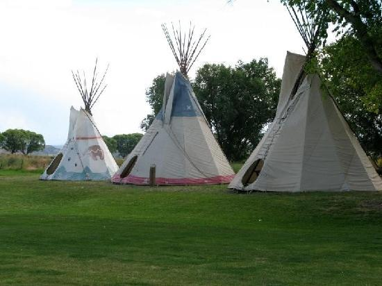 Montrose, CO: Tipi's at the Ute Indian Museum