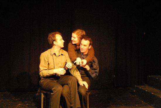 Un-Scripted Theater Company: In A World... Where there was no personal space.
