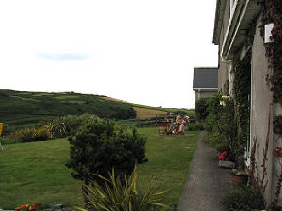 Cumar Dearg Guest House: Child friendly gardens with dog, Donkeys and chickens!!