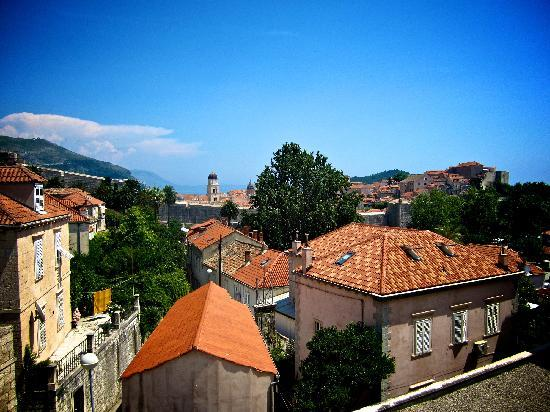 Hilton Imperial Dubrovnik: View from our window (not all rooms have views)