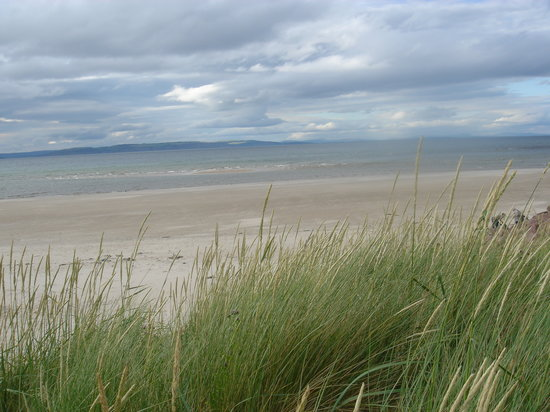 Nairn Beach in July