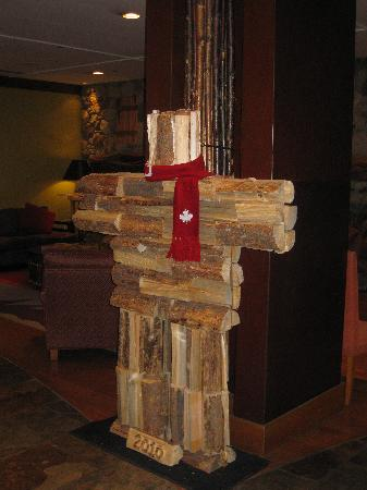 Legends : The Hotel's Olympic Inukshuk