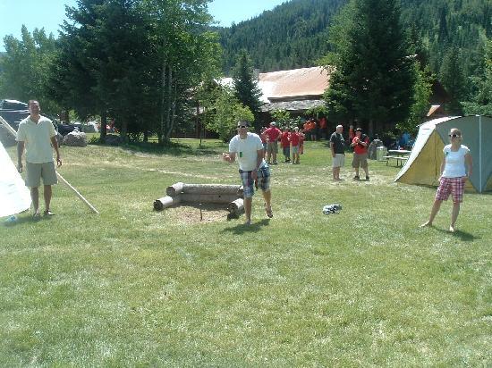 Moose Creek Ranch: Horseshoes