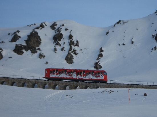 Davos, İsviçre: Parsennbahn, Pasenn das Skivergnügen
