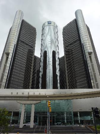 Detroit, MI: Gm Gebäude Außenansicht