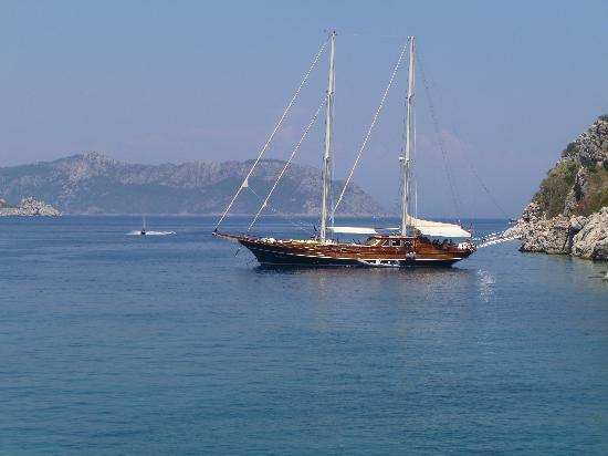 Turunc, Turkey: Five Bays boat trip