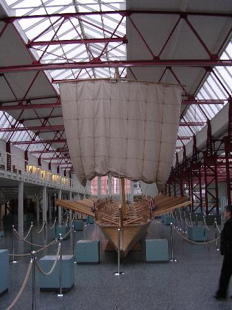 The Museum of Ancient Shipbuilding : Recreated ship