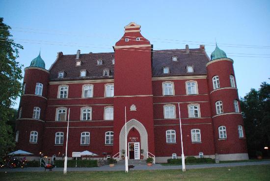 Schloss Spyker: Hotel von außen