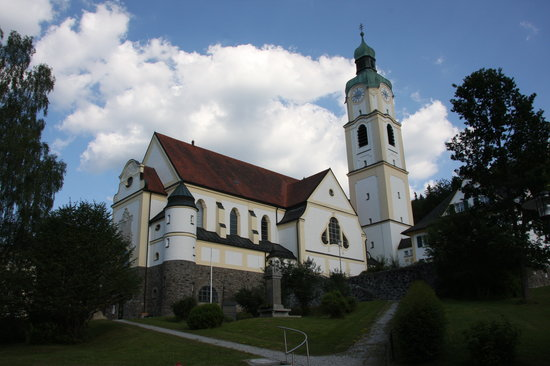 Bavarian Forest Holidays: Church in Bayerisch Eisenstein