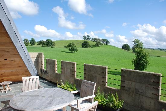 Hellifield, UK: View from Attic Terrace
