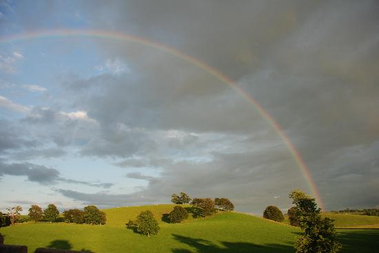 Hellifield, UK: Peel Castle rainbow