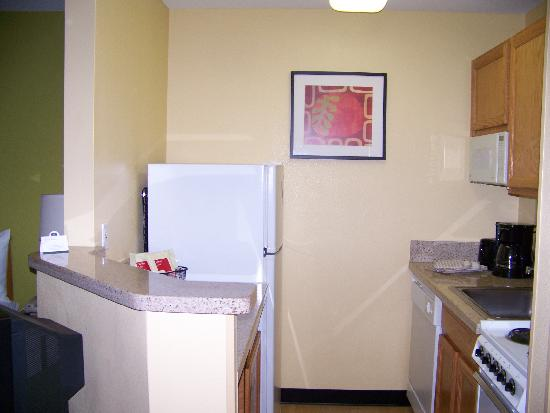 TownePlace Suites Fresno: coin cuisine
