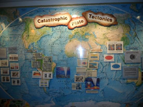 Plate Tectonics Not Light Reading Picture Of Creation