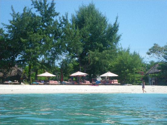 Gili Trawangan, Indonesia: Strand