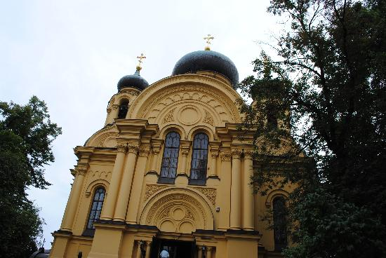 Varsovie, Pologne : Russian Orthodox Church in Warsaw