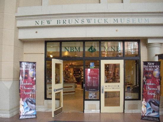 New Brunswick Museum: museum entrance