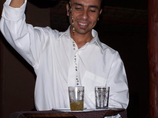 Riad Sirocco : thé a la menthe