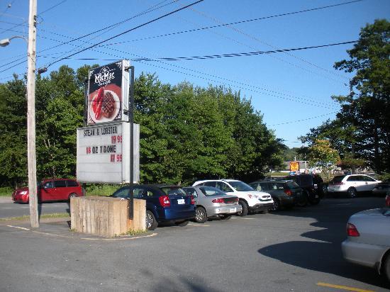 Mic Mac Bar & Grill: mic mac sign