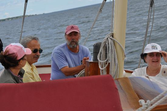 The Pineapple Ketch: The Captain