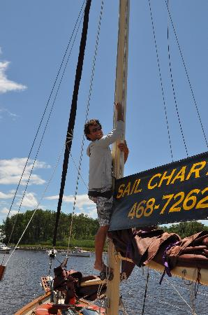 Kennebunkport, Maine: The First Mate!