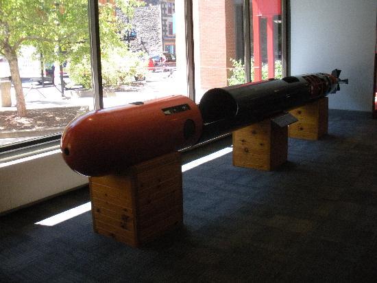Maritime Museum of the Atlantic: torpedo